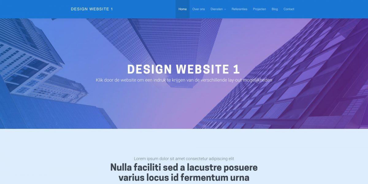 Design 1 - Demo bewonderen